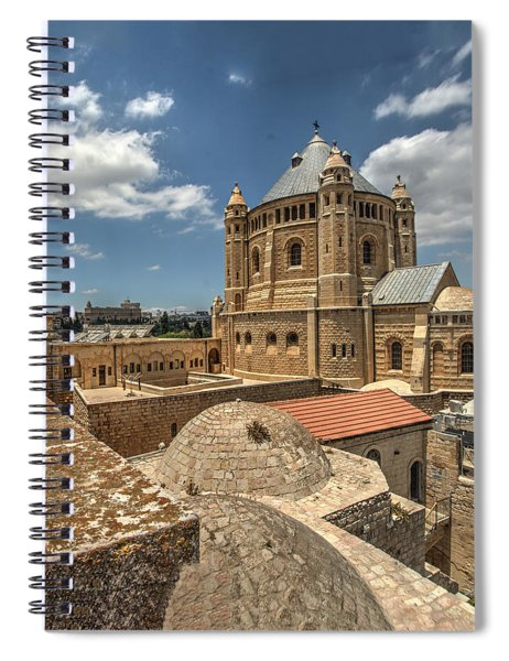 Hagia Maria Sion 1 Spiral Notebook