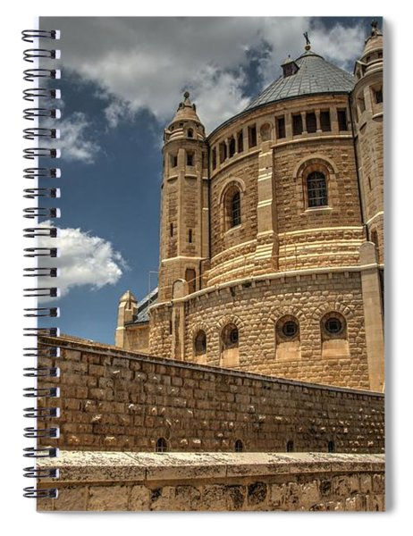 Hagia Maria Sion 3 Spiral Notebook