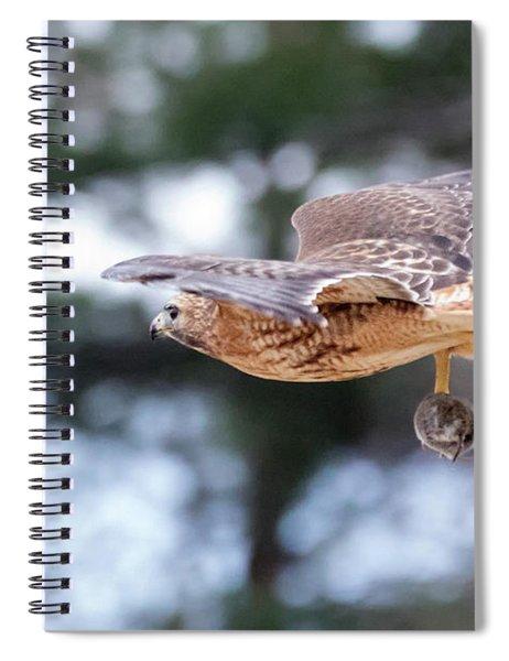 Hal Picking Up Dinner 2 Spiral Notebook