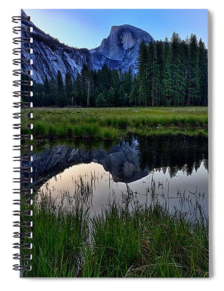 Half Dome At Sunrise Spiral Notebook