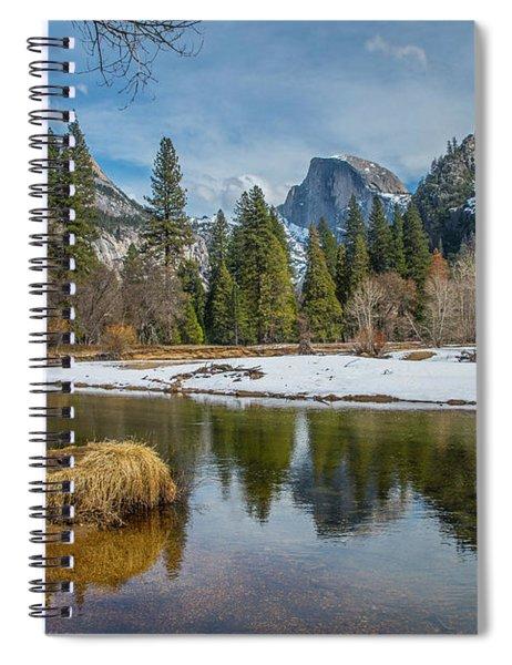 Half Dome Vista Spiral Notebook