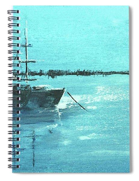 Half Moon Harbor Spiral Notebook