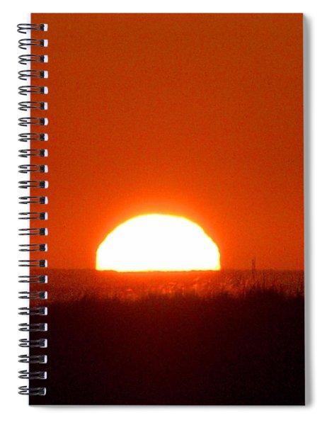Half Sun Spiral Notebook