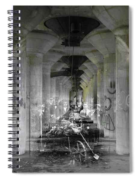 Hall Of Secrets Spiral Notebook