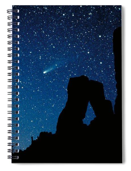 Halley's Comet Spiral Notebook