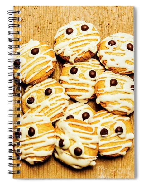Halloween Baking Treats Spiral Notebook