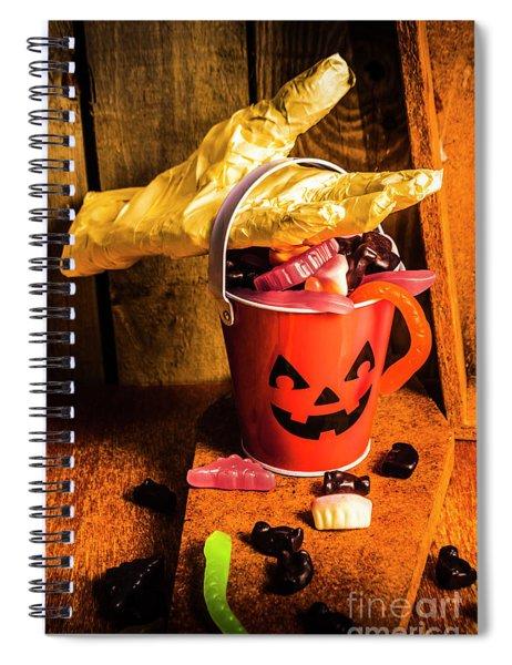 Halloween Candy Still Life Spiral Notebook