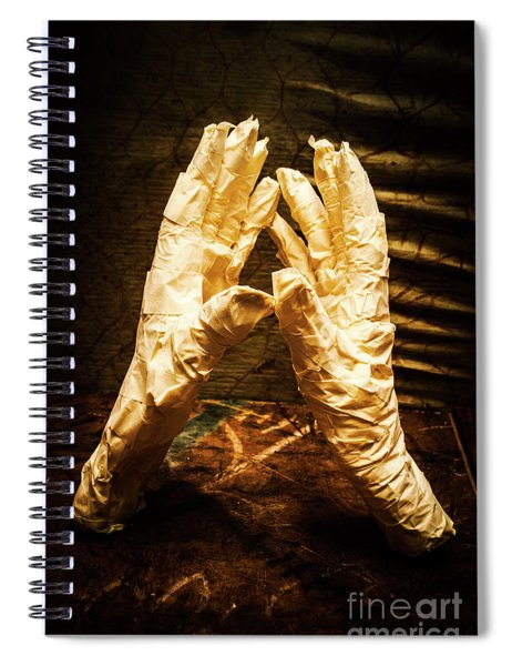 Halloween Fight Night Spiral Notebook