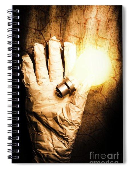 Halloween Ideas Concept Spiral Notebook