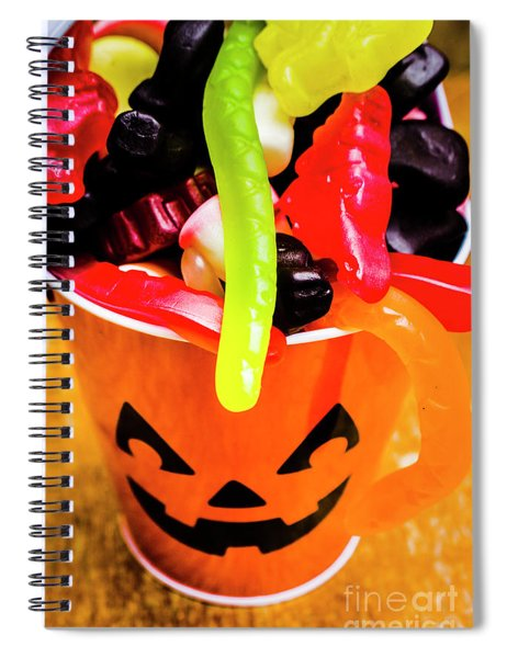 Halloween Party Details Spiral Notebook