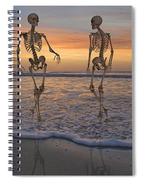 Halloween Stroll Spiral Notebook