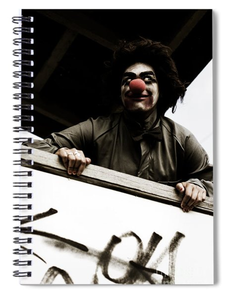 Halloween Trick Or Treat Spiral Notebook
