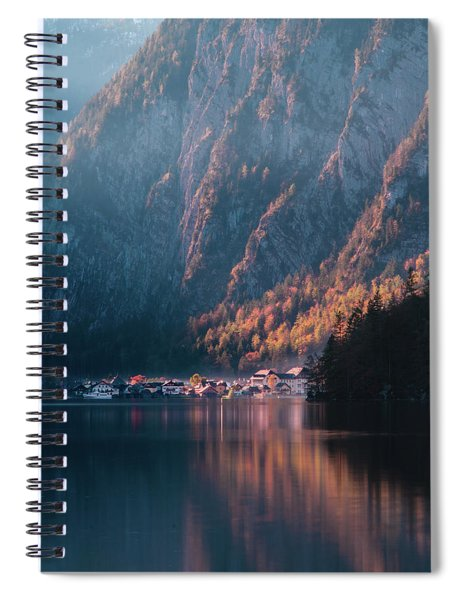 Hallstatt Fall Spiral Notebook
