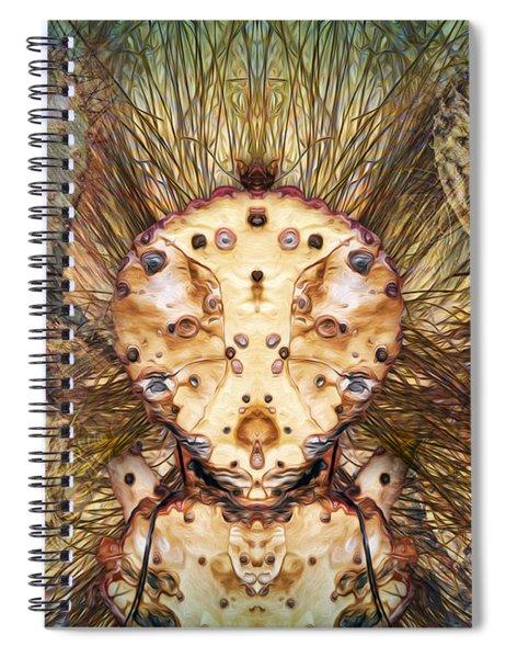 Hallucina-jim Spiral Notebook