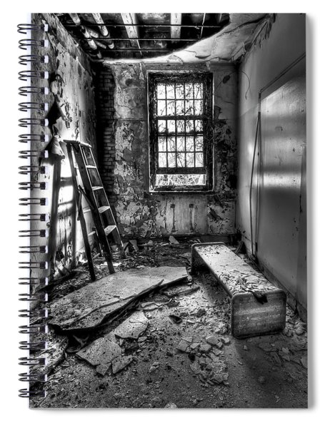 Hammer To Fall Spiral Notebook