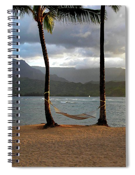 Hammock At Hanalei Bay Spiral Notebook