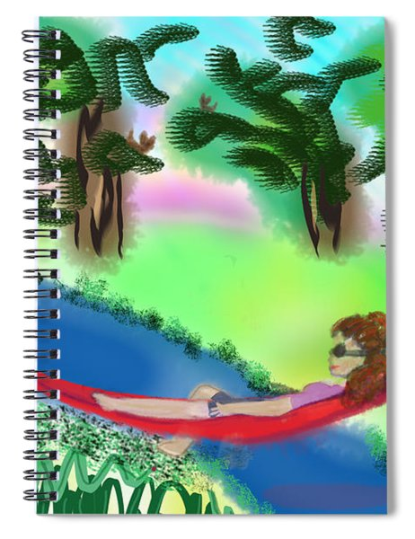 Hammock Under The Chihuahua Trees Spiral Notebook