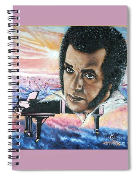 Blaa Kattproduksjoner       Hampton Hawes -jazz Pianist Spiral Notebook
