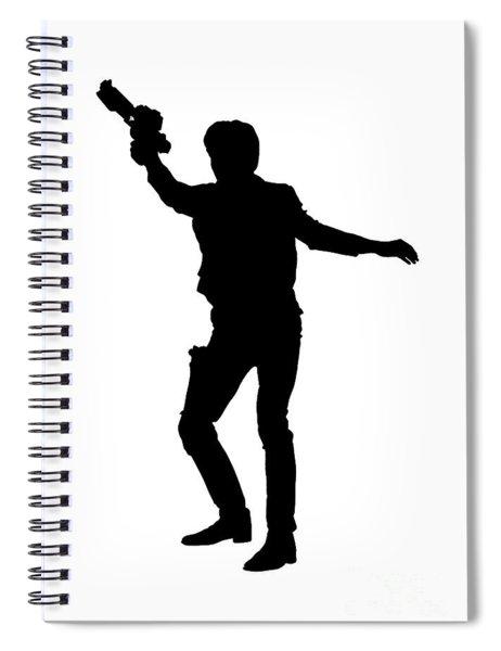 Han Solo Star Wars Tee Spiral Notebook