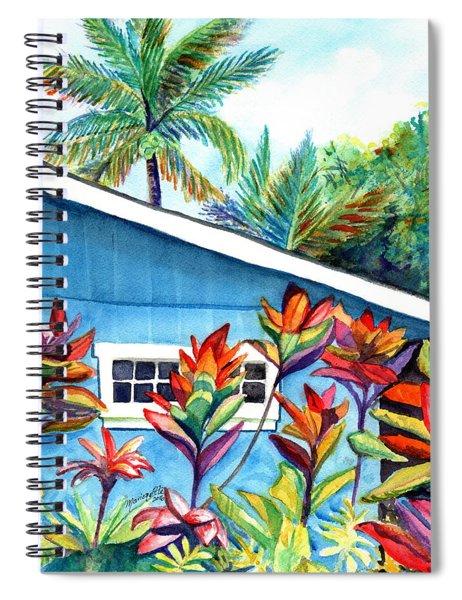 Hanalei Cottage Spiral Notebook
