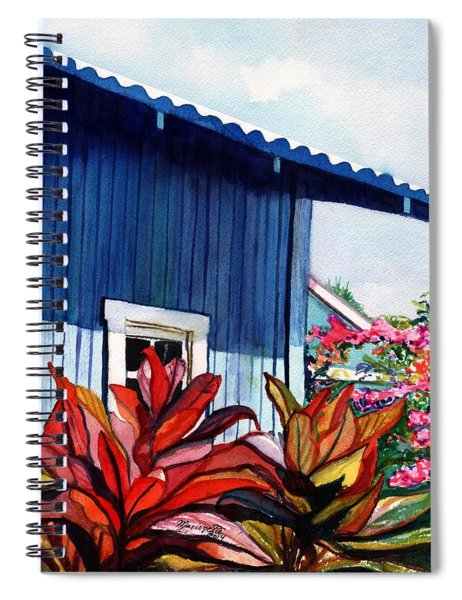 Hanapepe Town Spiral Notebook