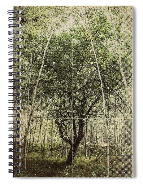 Hand Of God Apple Tree Poster Spiral Notebook