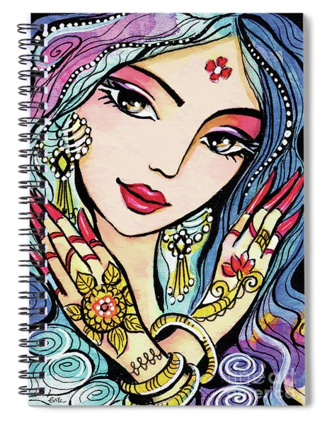 Hands Of India Spiral Notebook
