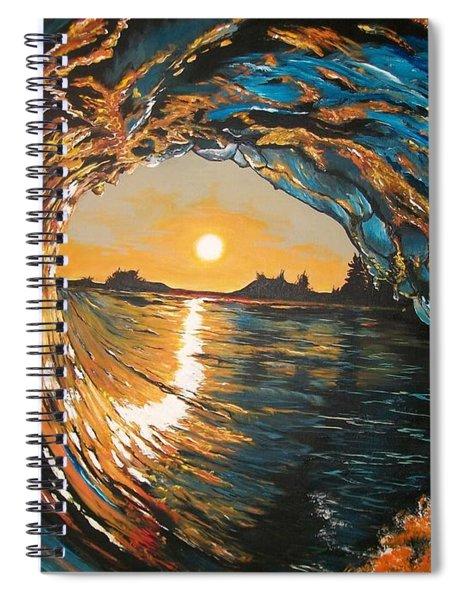 Hang Ten In Tofino Spiral Notebook