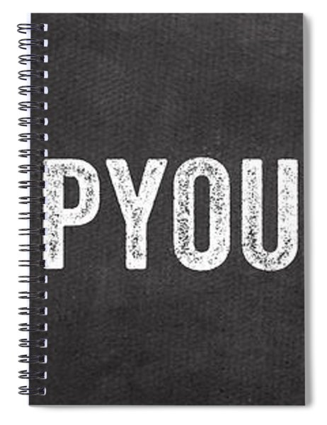Hang Up Your Towel Spiral Notebook