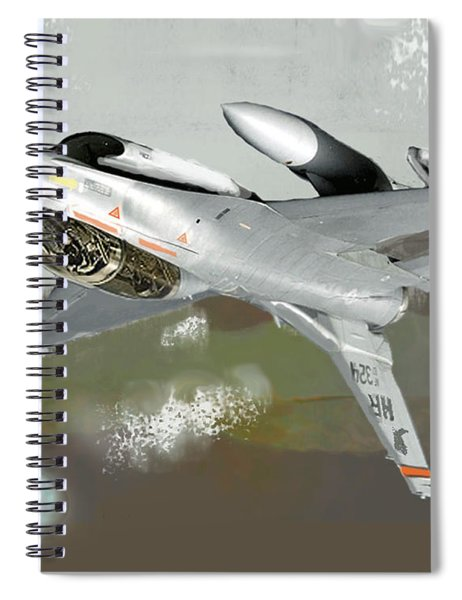 Hanging In The Seat Spiral Notebook