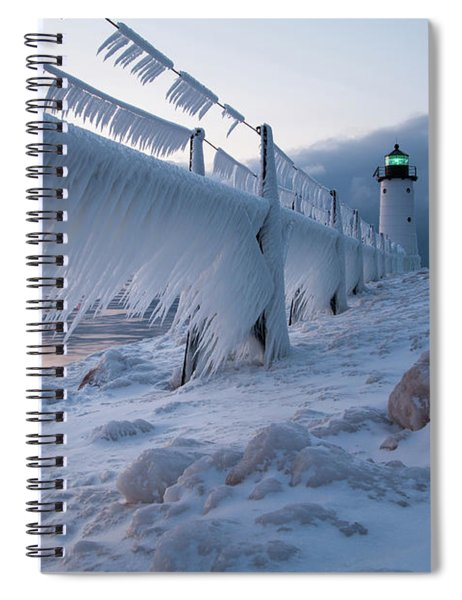 Hanging The Ice Out To Dry Spiral Notebook