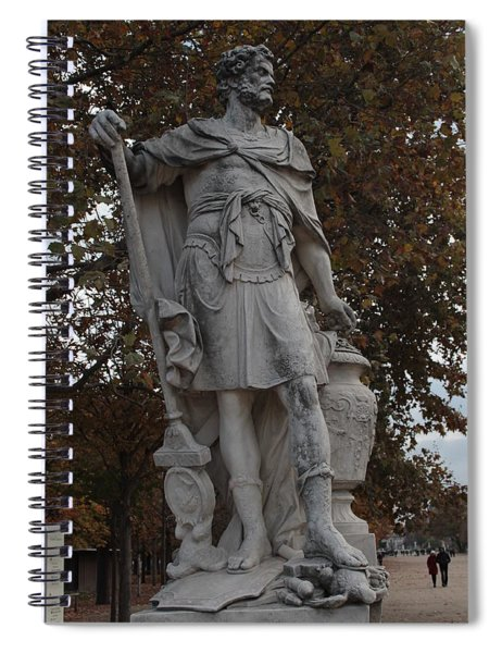 Hannibal Barca In Paris Spiral Notebook