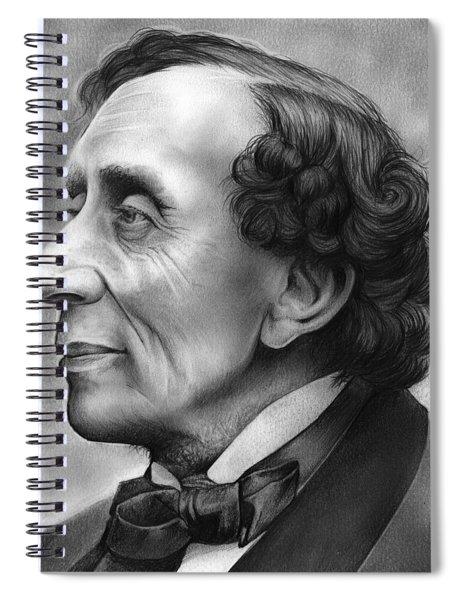Hans Christian Andersen Spiral Notebook