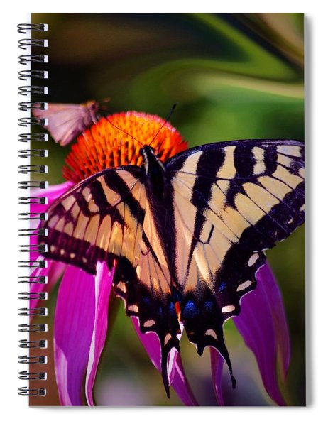 Happiness In Our Own Gardens... Spiral Notebook
