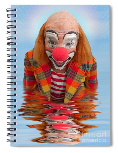 Happy Clown A173323 5x7 Spiral Notebook