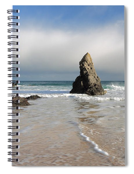 Happy Day On Sango Bay Spiral Notebook