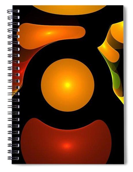 Happy Digit Spiral Notebook