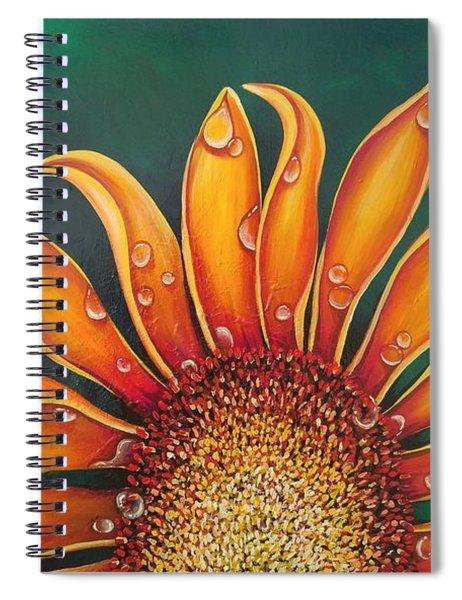 Happy Flower Spiral Notebook