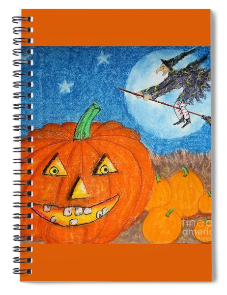 Happy Halloween Boo You Spiral Notebook