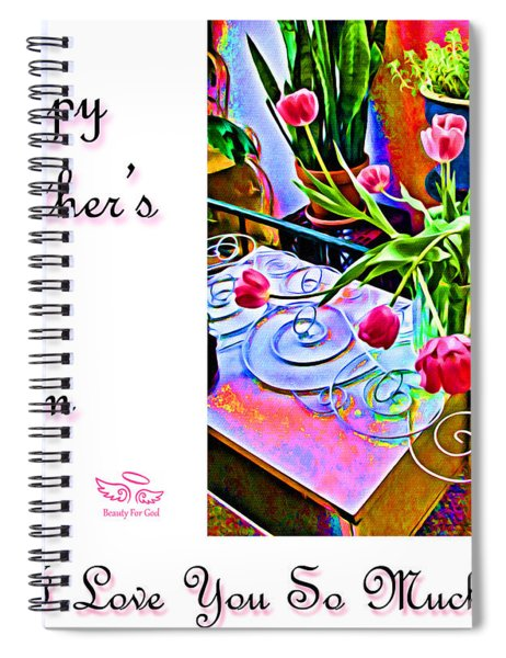 Happy Mother's Day Mom Spiral Notebook