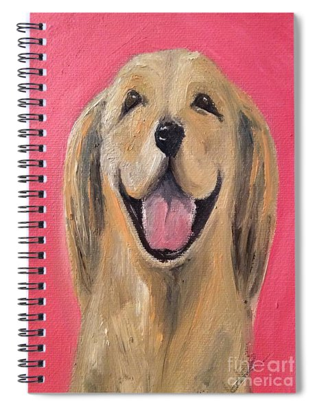 Happy Pup Spiral Notebook