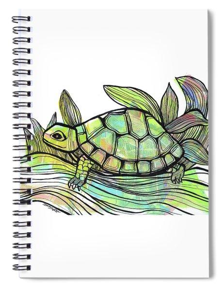 Happy Trails Spiral Notebook