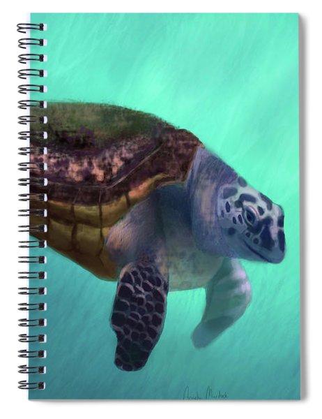 Happy Turtle Spiral Notebook