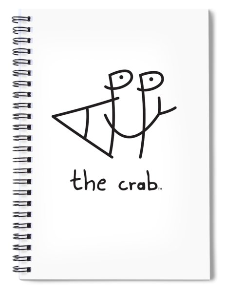 Happythecrab.com Spiral Notebook