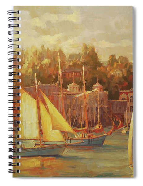 Harbor Faire Spiral Notebook