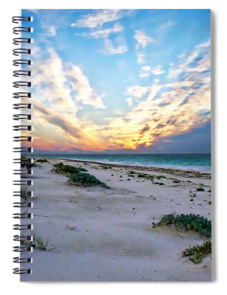 Harbor Island Sunset Spiral Notebook