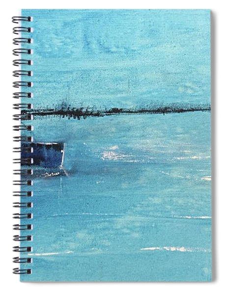 Harbor Moon Spiral Notebook