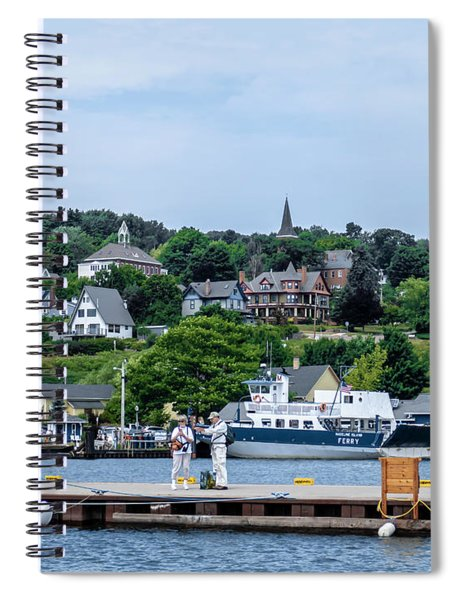Harbor Of Color Spiral Notebook