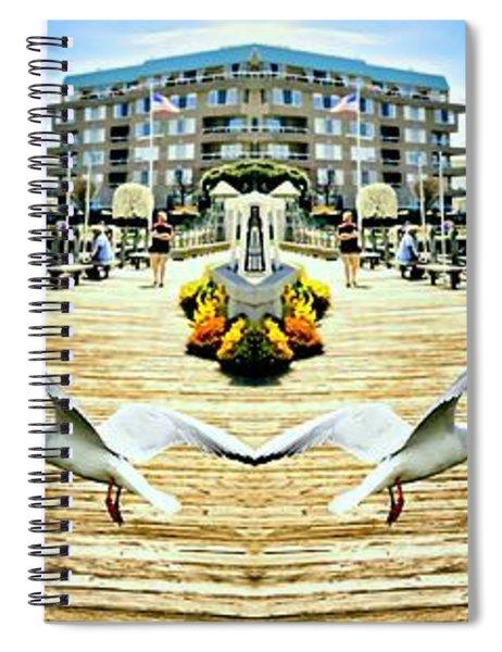 Stamford Landing Marina Spiral Notebook