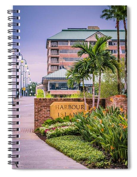 Harbour Island Retreat Spiral Notebook